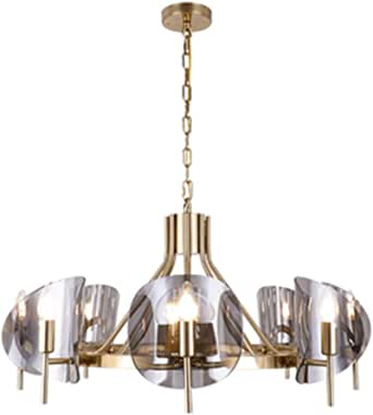 Nordic Chandelier Personality Modern Minimalist Light Luxury Fashion Living Room Bedroom Chandelier (Color : Chandelier)