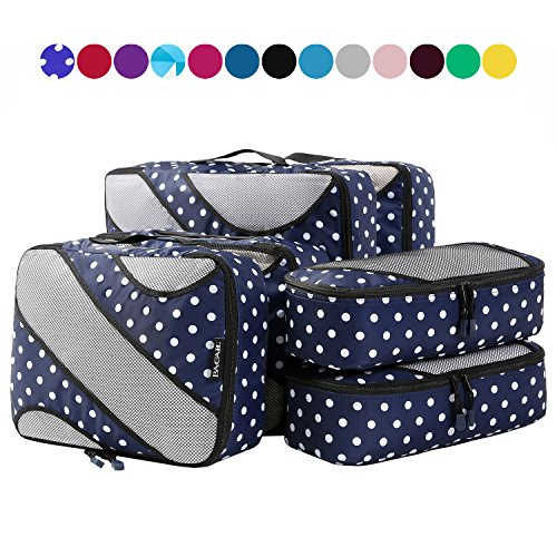 Top recommendation for packing cubes dot & dot