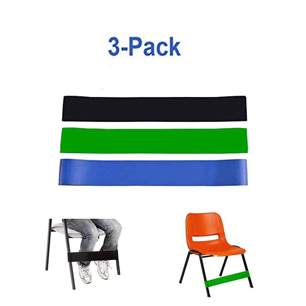Amazon.com: Pack de 5 bandas de silla para niños con pies ...