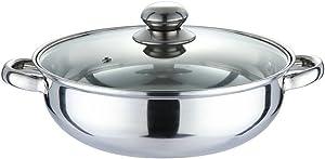 Nadalan Stainless Steel Hot Pot Light Cookware Shabu Shabu
