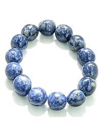 Amulet Healing Sodalite Tumbled Crystals Natural Powers Gemstone Bracelet