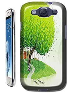 New High Quality Fashion Colorful Tree Abstract Oil Painting Design Phone Cases For Case Samsung Galaxy S5 Cover