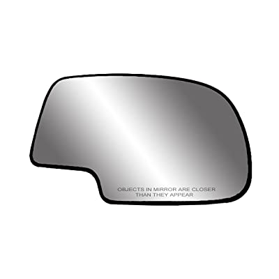 Fit System 80058 Passenger Side Non-heated Replacement Mirror Glass with Backing Plate: Automotive