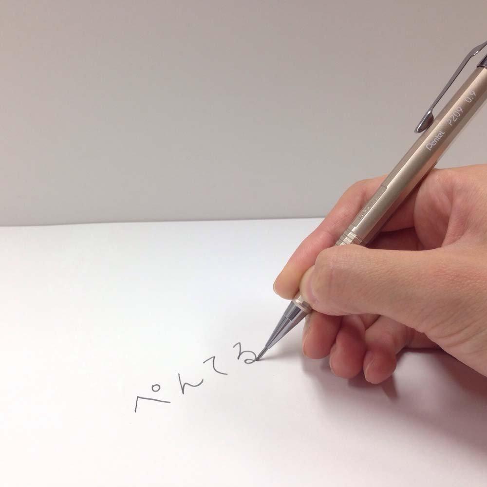 Pentel Mechanical Pencil, Kirari, 0.9mm, Gold (XP209-X) by Pentel (Image #3)