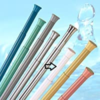 barre pour rideau de douche 190 - 300 cm blanche ** EXTRA long ** barre télescopique!