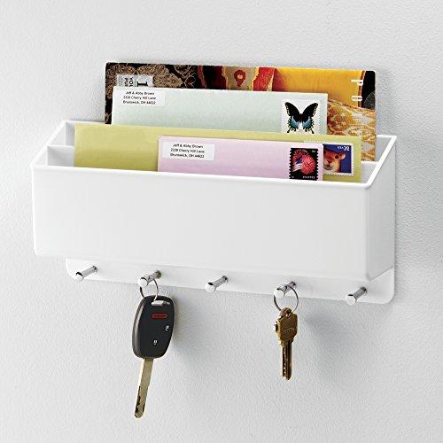 MDesign Mail, Letter Holder, Key Rack Organizer For