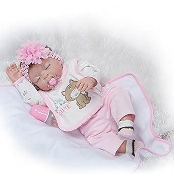 Amazon.es: Nicery Baby Born de Muñecas Vinilo de Silicona ...