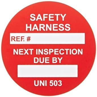 Brady UNI-UNI 503 RED, Red Universal Tag INSERTS SAFETY