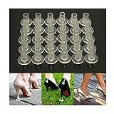 30pcs High Heel Protectors Stopper Stop Heel Sinking Stiletto High Heel Cover