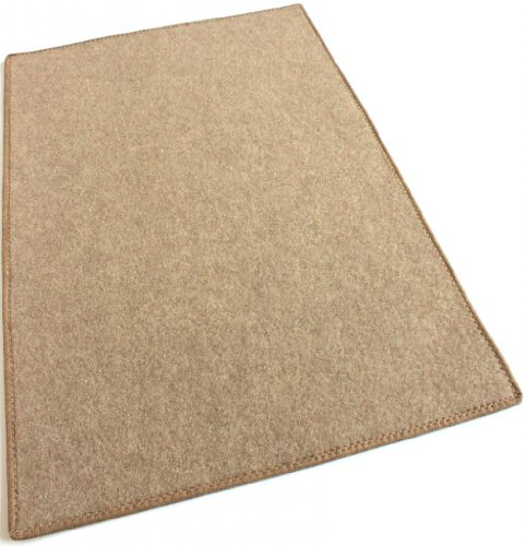 [Camel Carpet Area Rug – 8'x10' – Indoor/Outdoor Durably Soft!] (Tan Green Circles)