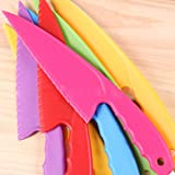 SimpleLife Safe PP Cake Knife Plastic Cutter for Pizza Bread Sushi Home Kitchen Baking Tool