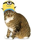 Minion Stuart Knit Cat Headpiece, NS
