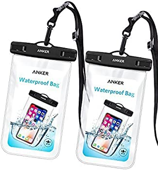 2-Pack Anker Universal IPX8 Waterproof Cellphone Case