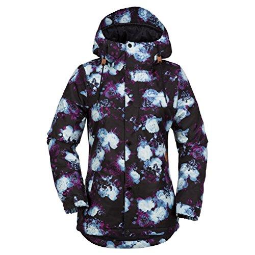 Volcom Junior's Bolt Insulated 2 Layer Shell Snow Jacket, Multi, Medium