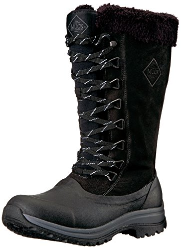 Muck Arctic Après Tall Rubber & Leather Lace-Up Women