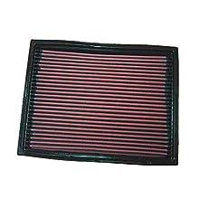 K&N 33-2739 Filtro de Aire Coche, Lavable y Reutilizable