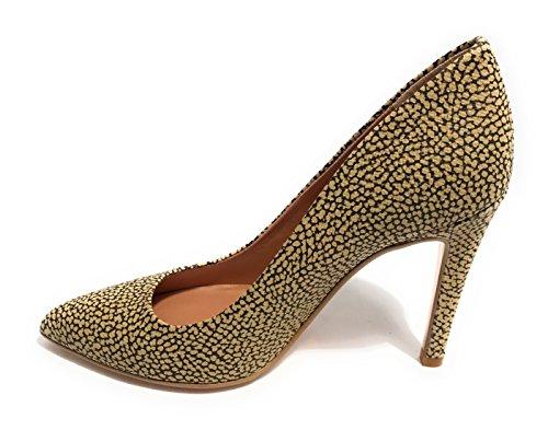 Borbonese Zapatos de Vestir de Material Sintético Para Mujer Beige Safari
