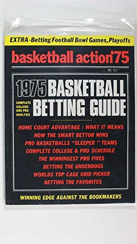 1975 BASKETBALL ACTION, BETTING GUIDE BETTING FOOTBALL BOWL GAMES, PLAYOFFS