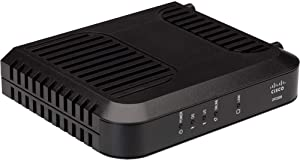 Cisco Cable Modem DPC3008, Compatible with Xfinity/Comcast, Spectrum, ATT, TWC, Cox, and Most Internet Providers, DOCSIS 3.0 Modem