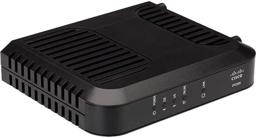 Amazon.com: Cisco Cable Modem DPC3008, Compatible with ...