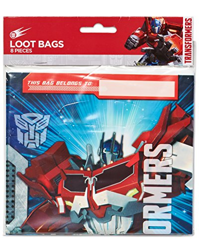 Transformers Folded Loot Bags, Party Favor ()