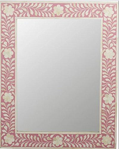 Bone Inlay Modern Antique Handmade Mirror