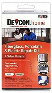 Amazon Com Devcon Epoxy Bathtub Repair Kit Almond