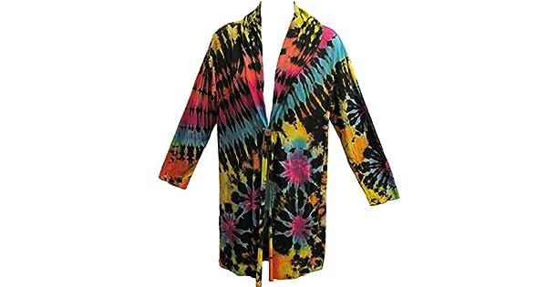 Amazon.com: Spandex Negro Arco iris Tie-Dye de Bohemia ...