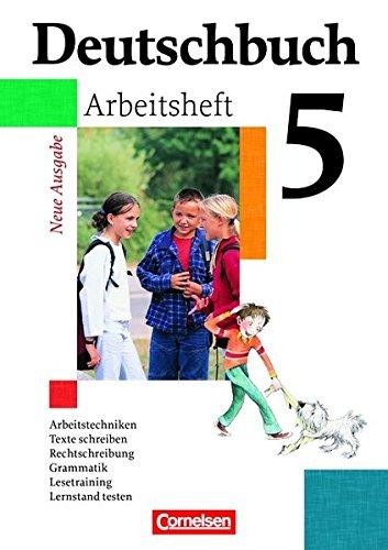 Deutschbuch - 5. Schuljahr - Arbeitsheft mit Lösungen