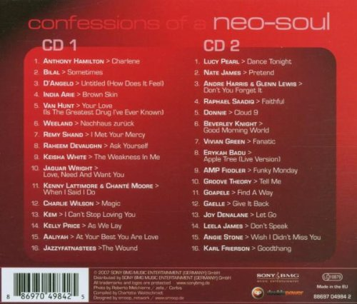 Confessions of a Neo-Soul