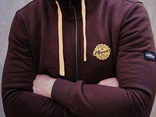 """PG Wear """"Tifosi"""" Hoodie burgundy"""
