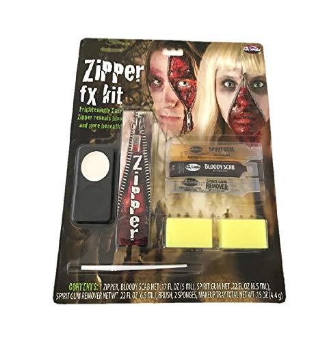 Bleyer Easter Packaging Div Halloween Makeup - Zipper FX -