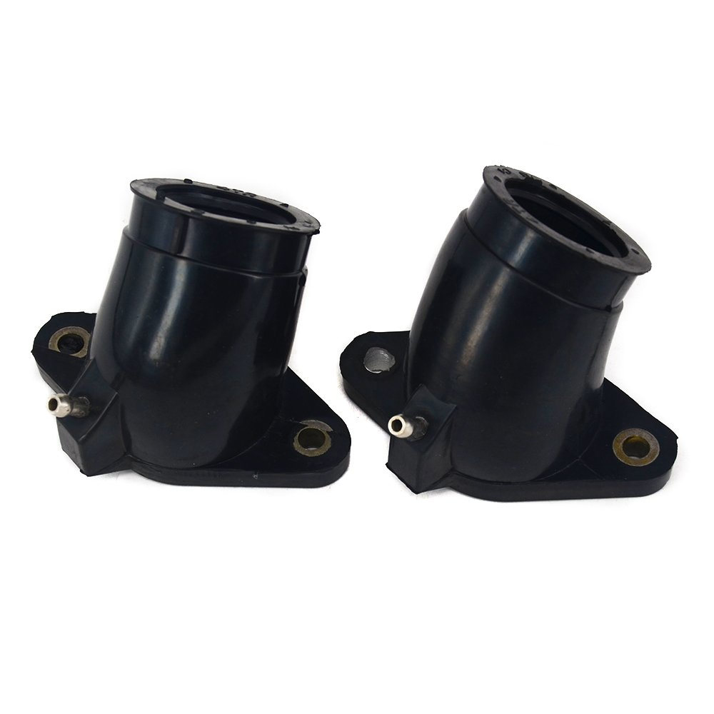 Fast Pro Rubber Interface Adapter Intake Carburetor For Yamaha XVS400 XVS650A Drag Star Classic