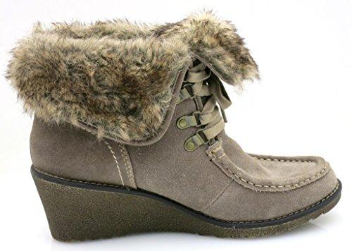 Marco Tozzi Bottine En Cuir Bottines Chaussures D'hiver Chaussure Hiver 2-26134