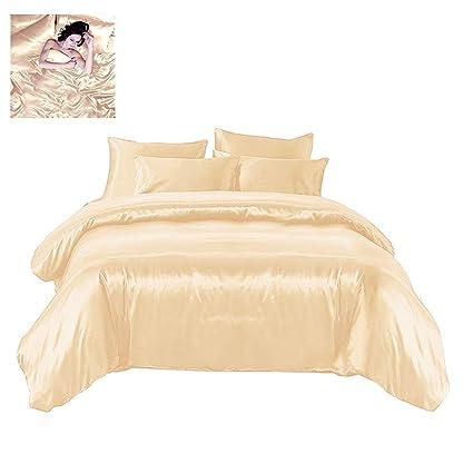 Sexy satin sheets