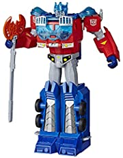 Transformers E7112AS00 Toys Cyberverse Ultimate Class Optimus Prime Action Figure - Combines with Energon Armor to Power Up - For Kids Ages 6 and Up, 9-inch