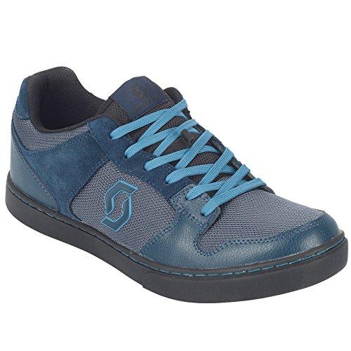 Scott FR 10 MTB Freeride Fahrrad Schuhe blau/schwarz 2018