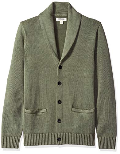 [해외]아마존 브랜드-굿 스레드 남자의 연약한 면 목도리 카디 건 스웨터 / Amazon Brand - Goodthreads Men`s Soft Cotton Shawl Cardigan Sweater