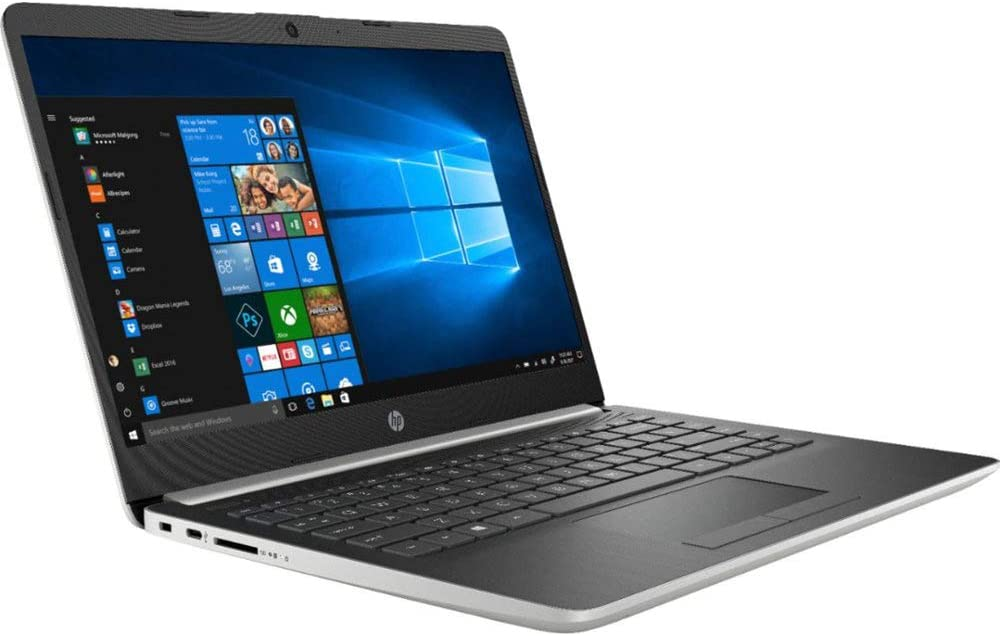 "HP 14"" Touchscreen Home and Business Laptop Ryzen 3-3200U, 8GB RAM, 512GB M.2 SSD, Dual-Core up to 3.50 GHz, Vega 3 Graphics, RJ-45, USB-C, 4K Output HDMI, Bluetooth, Webcam, 1366x768, Win 10"