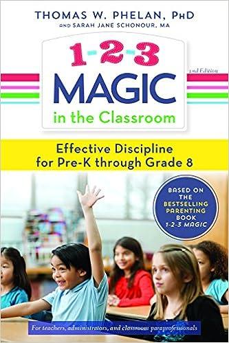 1-2-3 Magic in the Classroom: Effective Discipline for Pre-K