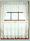 Kitchen Window Curtains Diy No. 918 Joy Classic Lace Kitchen Curtain Tier Pair, 60