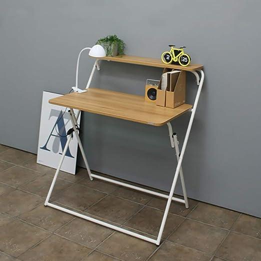 Yxsd Mesa de Escritorio Plegable de bambú para Ordenador portátil ...