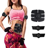 Stolife Muscle Trainer, EMS ABS Trainer Wireless Body Gym Workout Home Office Fitness Equipment for Abdomen/Arm/Leg Training Men Women