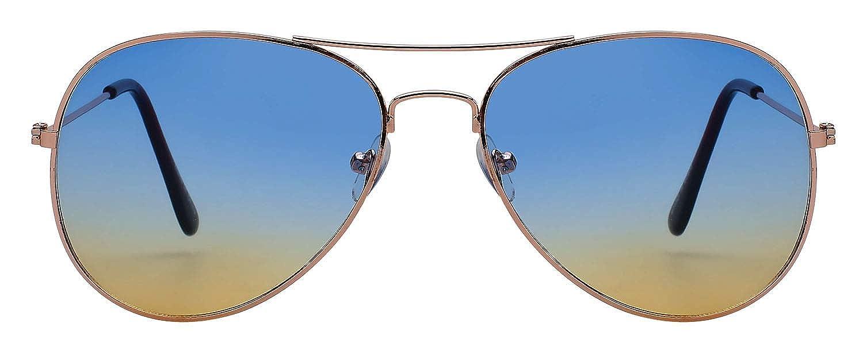 Amazon.com: 3 pares Estilo Clásico Aviator anteojos de sol ...