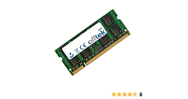 2GB DDR2-667 RM308UT#ABA RAM Memory Upgrade for The Compaq HP Business Notebook 6000 Series 6710b PC2-5300