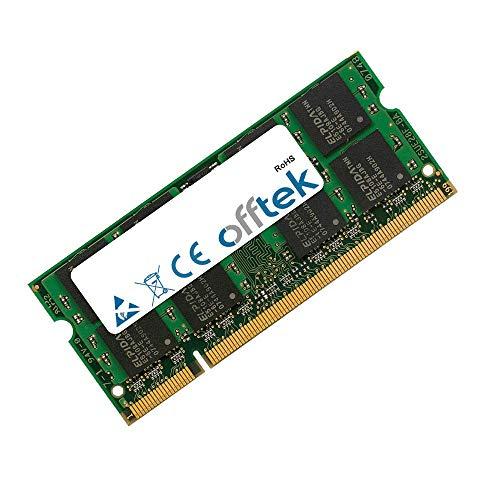 1GB RAM Memory 200 Pin DDR2 SoDimm - 1.8v - PC2-3200 (400Mhz) - Non-ECC - OFFTEK ()