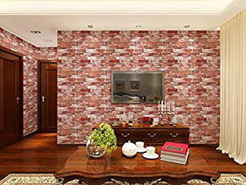 Eurotex Brick Design Wallpaper For Covering Living Room