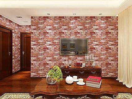 Eurotex Brick Design Wallpaper for Covering Living Room ...