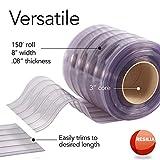 Resilia - Plastic Vinyl Strip Curtain for Walk In