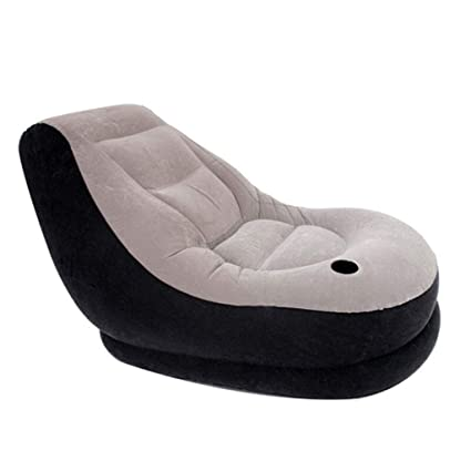Amazon.com : Air Beds Latex Inflatable Lounger, Inflatable ...